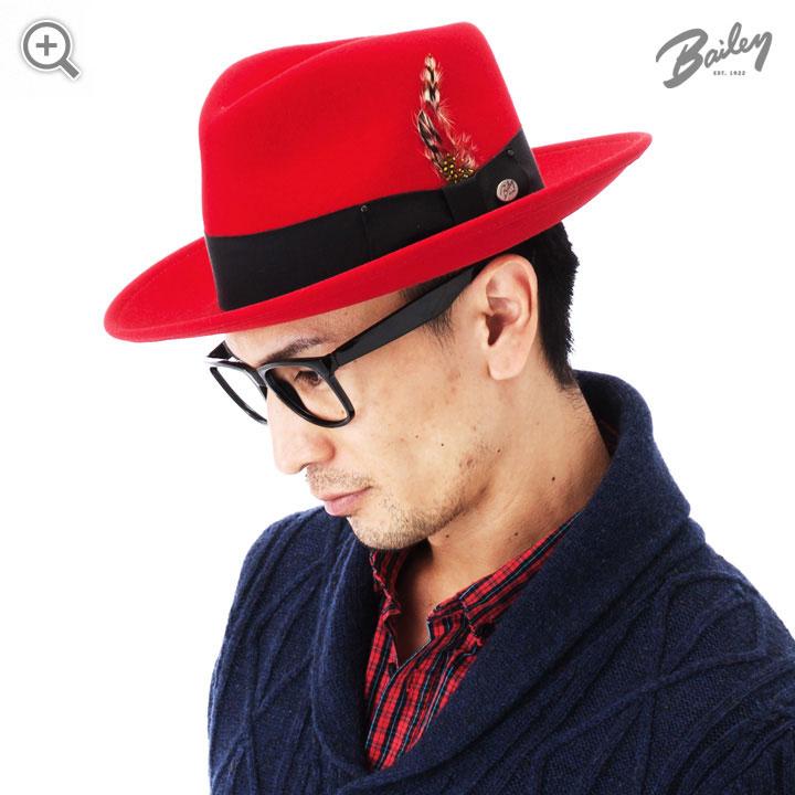 Шляпа BAILEY арт. 7002 FEDORA (черный) от HATSANDCAPS